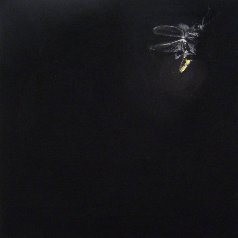 Lightning bug painting - photo#15